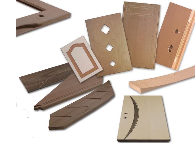 Cnc houtbewerking for Grinwis totaal deuren